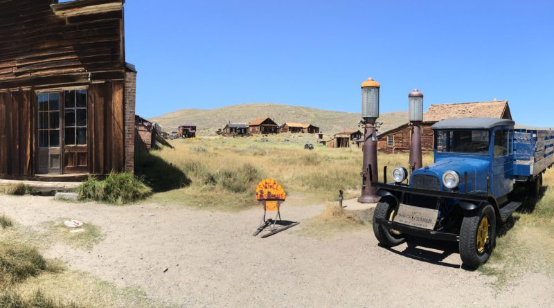 Bodie State Historic Park. A gold mining ghost town