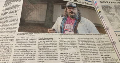 Gefle Dagblad om metalldetektering